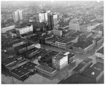 Downtown Huntington, WVa, 3rd Avenue in center,1937 Flood