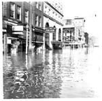 Wild Drug Store, Victor's Hat Shop, Gov. Cabell Hotel, Huntington,WV, 1937 Flood