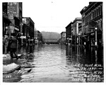 9th St and 4th Ave,looking north, Huntington, WVa