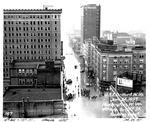 4th Ave. & 10th St, looking west, Huntington, WVa