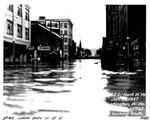 3rd Ave. & 10th St., looking south, Huntington, WVa