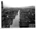 from roof of C&O Bldg., 4th Ave. & 11th St., looking east, Huntington, WVa