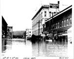 10th St. & 4th Ave., looking north, Huntington, WVa
