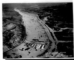Flood of Jan. 1937, Guyandot sic River, looking east in direction of C&O railway over International Nickel Co. plant,Huntington, WVa