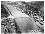Huntington,WVa flood of Jan 1937, showing 6th St bridge, Jan. 26, 1937
