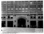 11th St. Entrance to C & O Building, Huntington, W.Va.