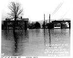 10th St and Railroad Ave, looking south, Huntington, WVa