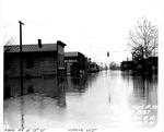 Adams Ave. & 13th St, looking west, Huntington, WVa