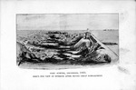 Fort Sumter, December 1863, bird's eye view of interior after second great bombardment