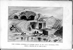 Fort Sumter, December 1863, bird's eye view of interior after second great bombardmentFort Sumter, December 1863, interior of eastern angle of sea face, from a drawing by Lt. John E. Key