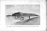 Fort Sumter, February, 1865, View from southwestern angle and the gorge