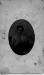 Tintype of woman
