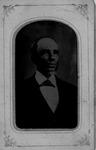 Tintype of Robert Wright, 1828, Wright Bros, Ceredo, W.Va.,Wayne Co