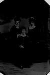 Tintype of 3 ladies