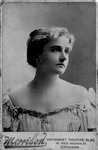 Cabinet card of Blanche Bendex