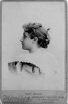 Cabinet card of Fanny Briscoe