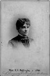 Cabinet card of Mrs. E.S. Buffington, 1890