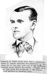 Drawing from photograph of Jesse James