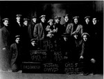 Huntington High School Football Team, 1910, Tri State Champions