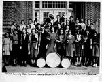 Wirt County High School Band, 1937, Elizabeth, W.Va., Marvin W. Saunders, Director