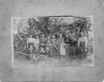 Summer Normal School at Oak Grove,Cesco Curry (Lincoln Co.), about 1900