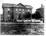 Fourth School, 4th Ave, across from Court House-razed 1910