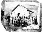 Haynie Branch School, about 1888, Don Roberts, teacher