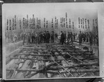 Guyan River Log Jam, 1904