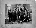 Office Employees at Ensign Shop, (American Care & Foundry), 1901