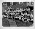 First Presbyterian Church Bible Class group at home of P. T. Whitaker, circa 1919