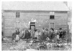 Threshing group, Bull Run, Roane County, near Spencer