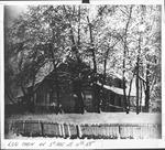Old log cabin, Huntington, W. Va., undated.