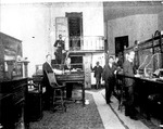 Employees at First National Bank