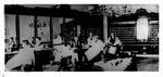 Men at tonsorial parlor