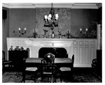 South wall of dining room of Taylor Vinson home, 1429 5th Ave.