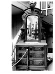 Cabell-Wayne Historical Society Exhibits, marble top dresser with mirror