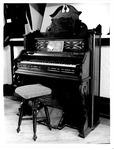 Cabell-Wayne Historical Society Exhibits, organ with stool