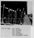 Mrs. Hoback, Mrs. Wilcoxen, Mrs. Heinish, Mrs. Mossman, Mrs. Millineaux, Miss Cavendish-Driver
