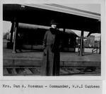 Mrs. Dan A. Mossman-Commander, W.W. I Canteen