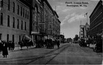Fourth Avenue Scene, Huntington, W.Va