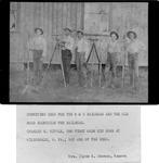 5 N & W Rairoad survey crew