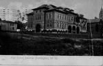 High School Building, Huntington, W.Va.
