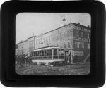 First electric street car, 1888.