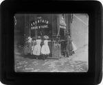Fountain drug store, ca. 1885.