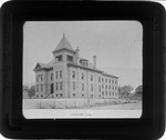 Cabell Co. jail, Huntington, W. Va., ca. 1900.