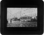 First street car, Huntington, W. Va., 1888.