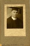 Cam Henderson's graduation photo from Salem College, 1917