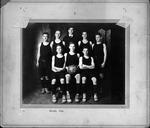 1916 Bristol High School basketball team, Cam Henderson back row, center