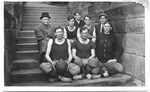Cam Henderson with Glenville Normal School basketball team, 1910-1911