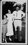 Cam, Roxie and daughter Camille Henderson, Sept. 1936